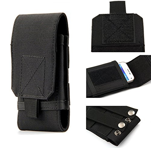 tactical molle smartphone holster universal army mobile. Black Bedroom Furniture Sets. Home Design Ideas