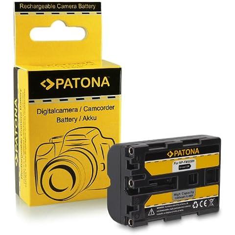 Batería NP-FM500H para Sony Alpha 57 SLT-A57 | 58 SLT-A58 | 65 SLT-A65 | 77 SLT-A77 | 99 SLT-A99 | DSLR-A200 | DSLR-A300 | DSLR-A350 | DSLR-A450 | DSLR-A500 | DSLR-A550 | DSLR-A560 | DSLR-A580 | DSLR-A700 | DSLR-A850 |