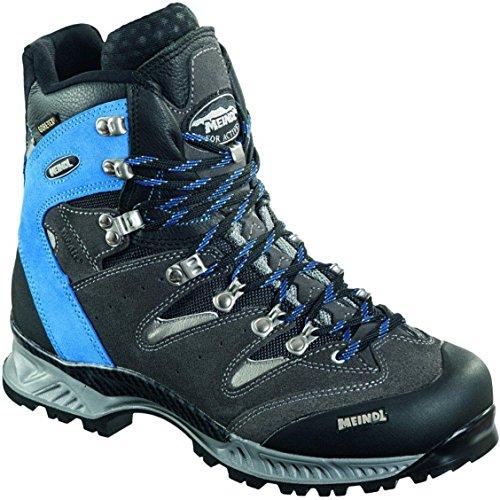 Meindl Wander-Trekking Velourleder/Mesh, Gore Tex, Air Active Fußbett, Vibram + CF cobalt/anthrazit Air Revolution 2.3