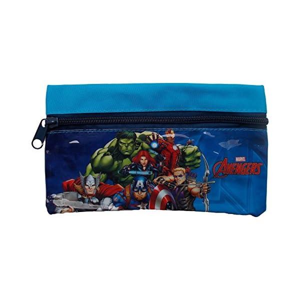 Star Licensing Estuche Escolar Avengers PORTAcolores 1 Marvel CM 20,5X11,5 – 44472/2