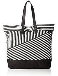 PIECES Pclacy Beach Bag - Henkeltasche Mujer