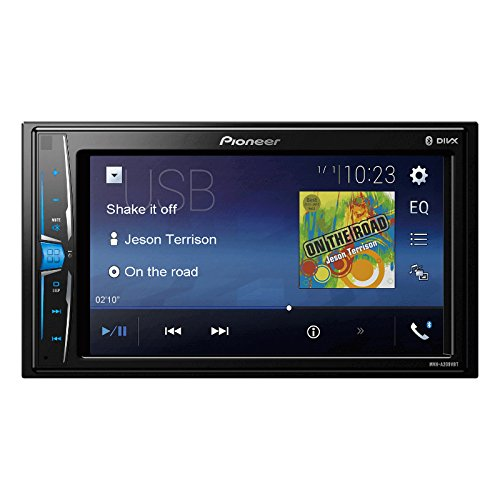 Pioneer MVH-A209VBT 6.2-inch Touchscreen BT/AUX/MP3/MP4 Car Media Player (Black)