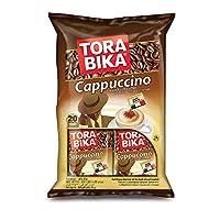 Tora Bika Cappuccino Instant Coffee, 20 Sachet x 25 gm (Pack of 1)