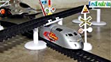 #1: BestDealz4u High Speed Metro with Flyover Track Toy for Kids