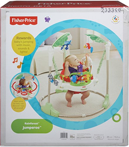 Fisher price rainforest altalena per neonati for Altalena amazon