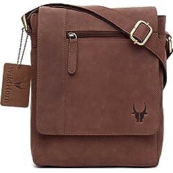 WildHorn Urban Edge Vintage Genuine Leather Messenger Bag