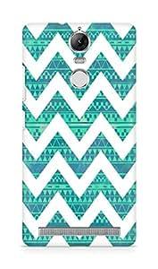 Amez designer printed 3d premium high quality back case cover for Lenovo K5 Note (zig zag pattern)