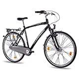 "28"" Zoll LUXUS ALU CITY BIKE TREKKINGRAD HERRENFAHRRAD CHRISSON SERETO"