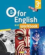 E for English 3e (éd. 2017) - Workbook - version papier de Anne-Cécile Couturier