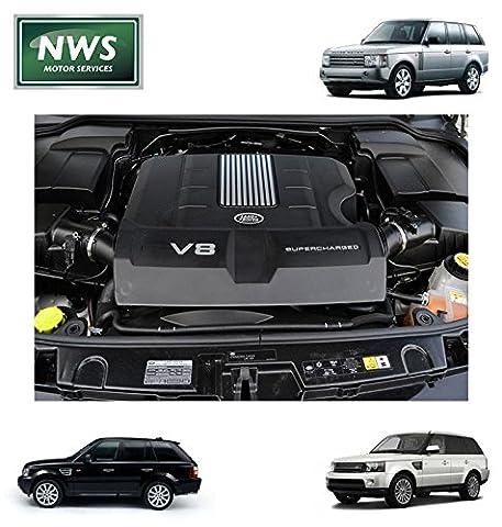 Range Rover Sport 5.0V8reconditionné Supercharged Moteur à essence 2009–2013