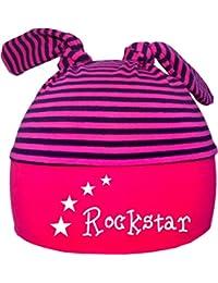 Kleiner Fratz 2-Zipfel Mütze Baby Kinder Jungen Mädchen Babymütze Hat Rockstar / Stern
