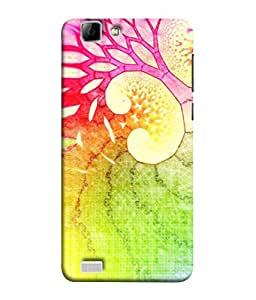 PrintVisa Designer Back Case Cover for Vivo V1 (Eye catching Attractive Smart secretive cause Seduction)