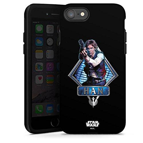 Apple iPhone X Silikon Hülle Case Schutzhülle Star Wars Han Solo Merchandise Tough Case glänzend