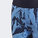 adidas Essentials AOP Tights (1/1), Niñas, Lucky Blue/Legend Ink/White, 9-10A