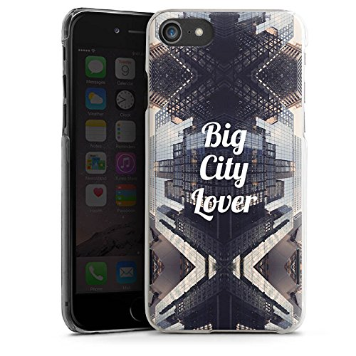 Apple iPhone X Silikon Hülle Case Schutzhülle City Hochhaus Statement Hard Case transparent