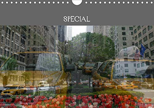 New York Special (Wall Calendar 2020 DIN A4 Landscape): Dynamic pictures of a dream town. (Monthly calendar, 14 pages ) (Calvendo Places)