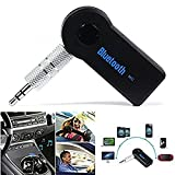 #2: Omniversal Meecase Wireless Bluetooth Receiver Adapter 3.5mm AUX Audio Car Kit Compatible With All Android And iOs Devices - Random Colour Bluetooth Stereo Adapter Audio Receiver 3.5Mm Music Wireless Hifi Dongle Transmitter Usb Mp3 Car Speaker
