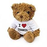 NEW-I LOVE Tennis Mignon-Peluche Ours-Ventilateur de Tennis de Wimbledon Roland Garros cadeau US Open