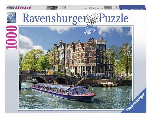 Ravensburger Italy- Canali di Amsterdam, Puzzle 1000 Pezzi, 19138 3