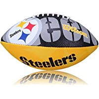 Wilson Football NFL Steelers Logo, Dunkelgrün /Gelb, Junior, WL0206213640
