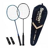 Senston S300 100% Graphit Badminton Set Carbon Badmintonschläger Graphit Badminton