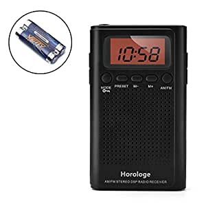 am fm pocket radio portable alarm clock radio with electronics. Black Bedroom Furniture Sets. Home Design Ideas