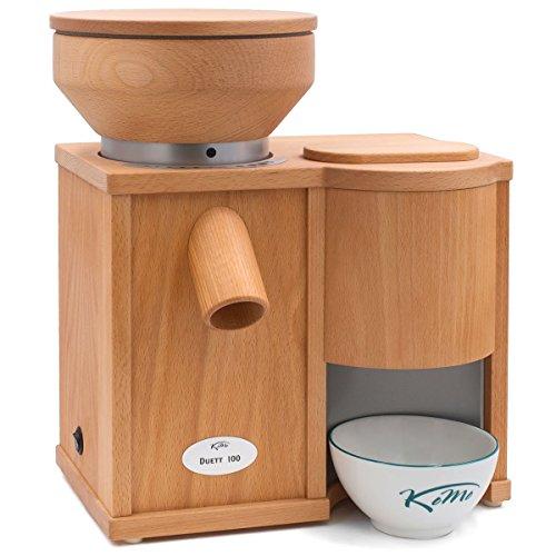 KoMo Getreidemühle Duett 100 = Mühle Fidibus Classic 360 Watt + FlocMan