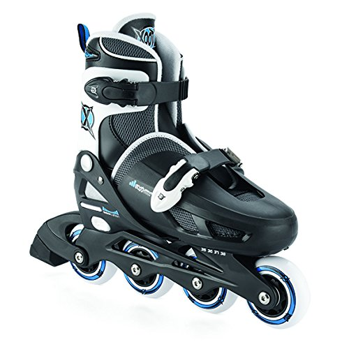 xootz-boys-inline-skates-adjustable-and-padded-roller-blades-black-size-1-4