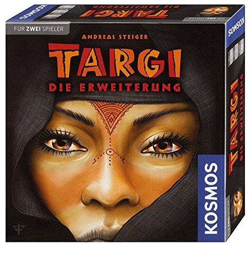 Outlet-box-erweiterung (Kosmos 692643 - Targi Die Erweiterung, Mehr Spielmöglichkeiten für das beliebte Spiel für 2 Spieler, Nur zusammen mit dem Targi-Grundspiel spielbar, Brettspiel)