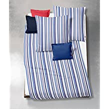 Fleuresse 443504, Fb, 2 de funda nórdica de funda de edredón y de-ropa de cama, 135 x 200 cm, colour azul marino