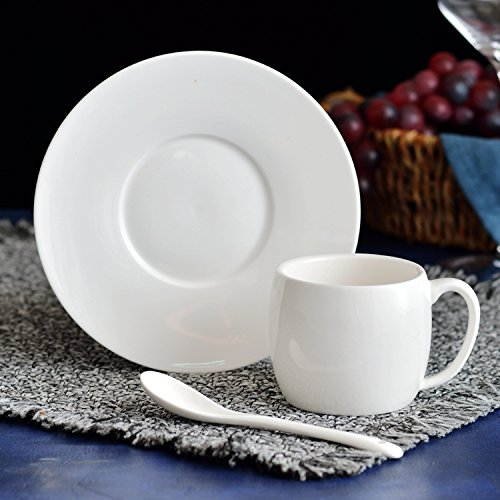 HONGYUANZHANG Kaffeetasse Tasse Büro Esszimmer Wasser Tasse (150 Ml)