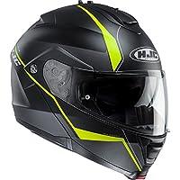 Casco modular IS-MAX II con visera abatible para motocicleta, de la marca HJC