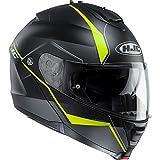Hjc Helmets Is-max II escamotable modulaire casque de moto–mine Noir/jaune