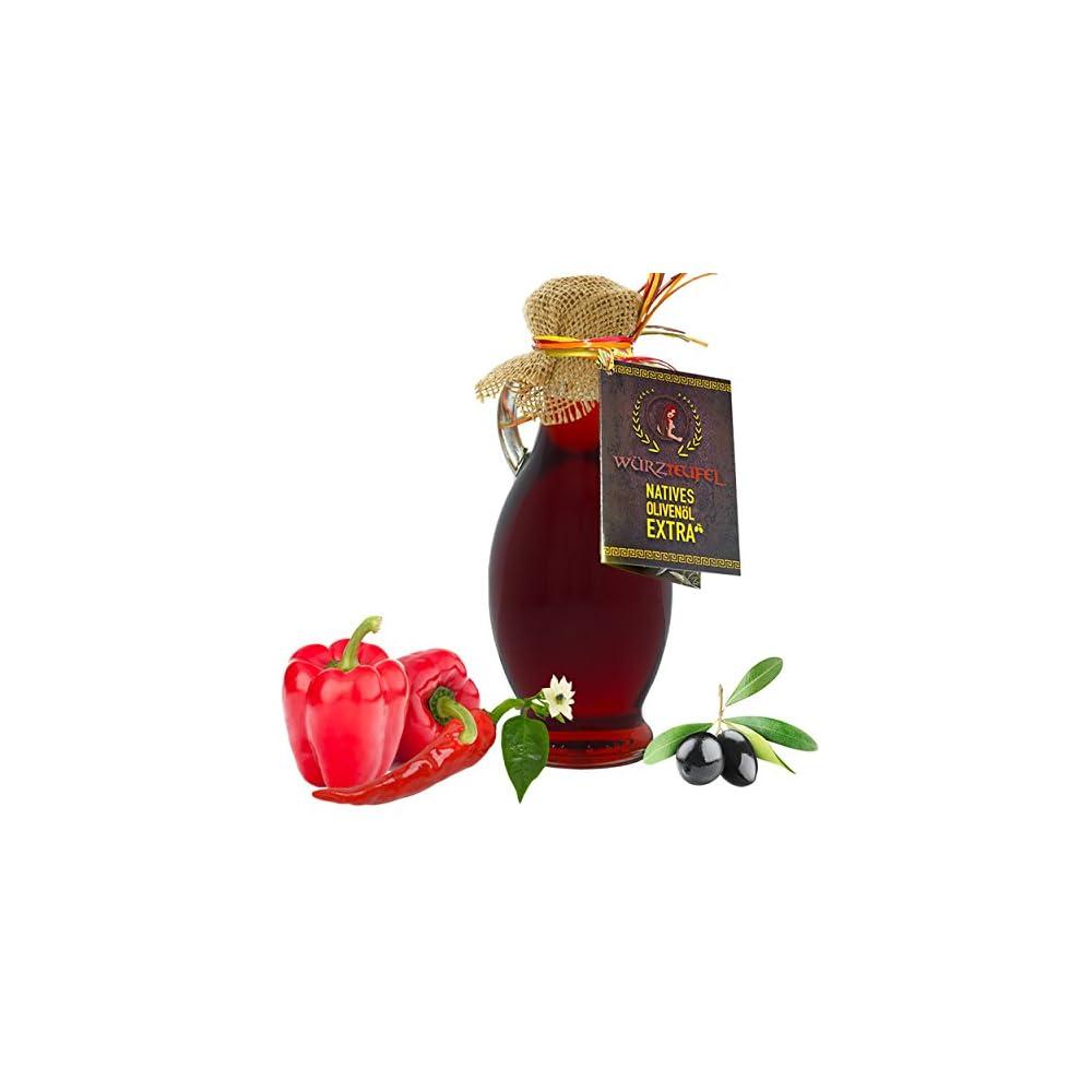 Paprikal Paprika L Mit Nativem Extra Vergin Olivenl Und Natrlichem Paprikaextrakt Ungefiltert Kaltgepresst Traditionelle Herstellung Im Familienbetrieb Amphore Irgizia Flasche 250ml