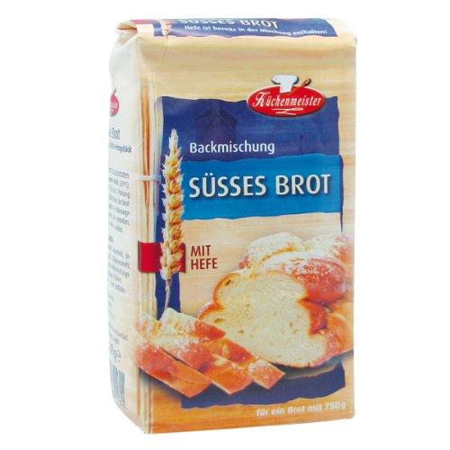 Preisvergleich Produktbild Bielmeier-Küchenmeister Brotbackmischung Süßes Brot,  15er Pack (15 x 500g)