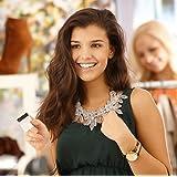 XXL Luxus Statement Halskette Kette Collier Kristall Stachel Marke MyBeautyworld24