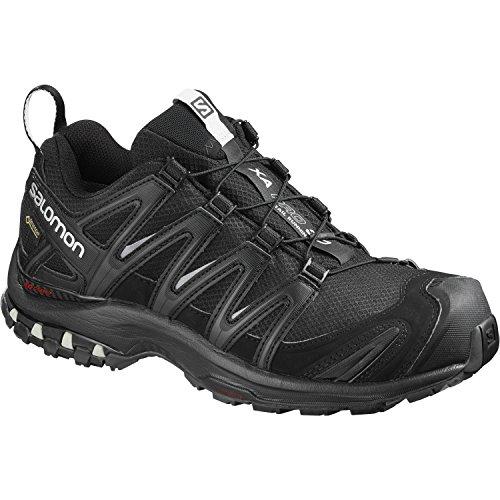 Salomon XA Pro 3D GTX Damen Traillaufschuhe, Black/Black/Mineral Grey, 41 1/3 EU (Salomon Pro Schuh Xa)