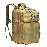 Prospo 40L Military Tactical Rucksack Molle Schultertasche Rucksack Assault Pack Tagesrucksack...