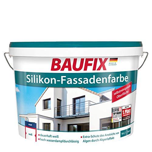 BAUFIX Silikon-Fassadenfarbe, 10 L