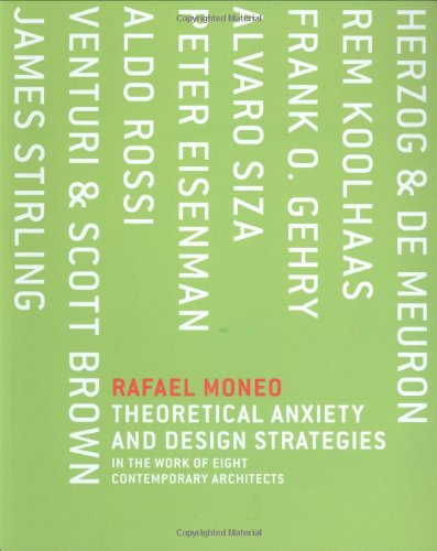 Theoretical Anxiety and Design Strategies in the Work of Eight Contemporary Architects (The MIT Press) por Rafael Moneo