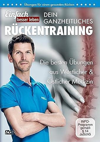 Dein ganzheitliches Rückentraining: Die 25 besten Übungen gegen Rückenschmerzen | DVD mit Rückenübungen, für jedes Alter und Fitnesslevel