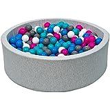 Piscinas de bolas y accesorios juguetes y juegos for Amazon piscinas infantiles