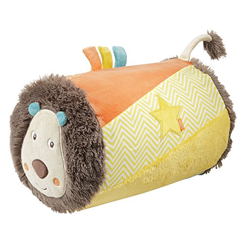 *Fehn 066326 Krabbelrolle Löwe – Krabbel-Hilfe im lustigen Löwen Design für Babys und Kleinkinder ab 6+ Monaten – Maße: ø 22 x 34 cm*