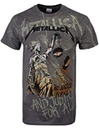 Metallica ... And Justice For All - Neon Backdrop T-shirt anthracite
