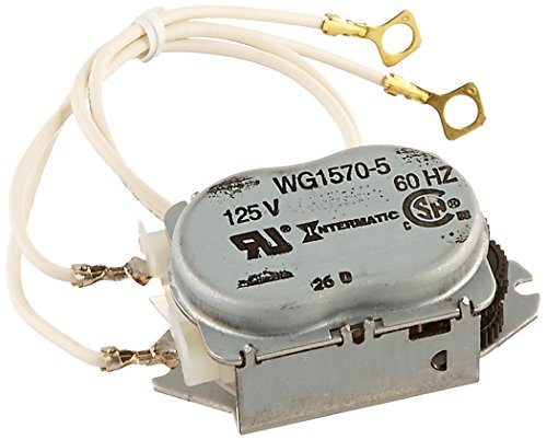 Intermatic WG1570-10D 125V 60-Hertz Replacement Time Clock Motor for T100, T170, T100R201, T1400, T100-20 and WH Series - 125v Motor