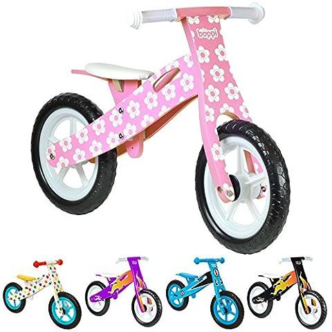 boppi® Wooden Balance Bike - Pink