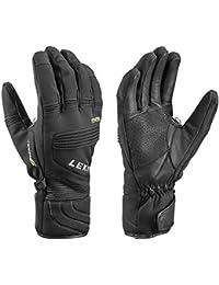 Leki–Guantes de esquí Elements PALLADIUM S, invierno, unisex, color negro, tamaño 11