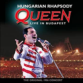 Amazoncom Hungarian Rhapsody Queen Live in Budapest