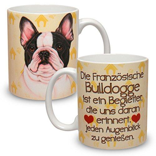 Kaffeebecher mit Motiv Hund Große XXL Tasse Französische Bulldogge