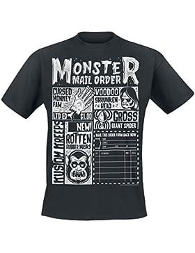 Kustom Kreeps GT Monster Mailorder Camiseta Negro M